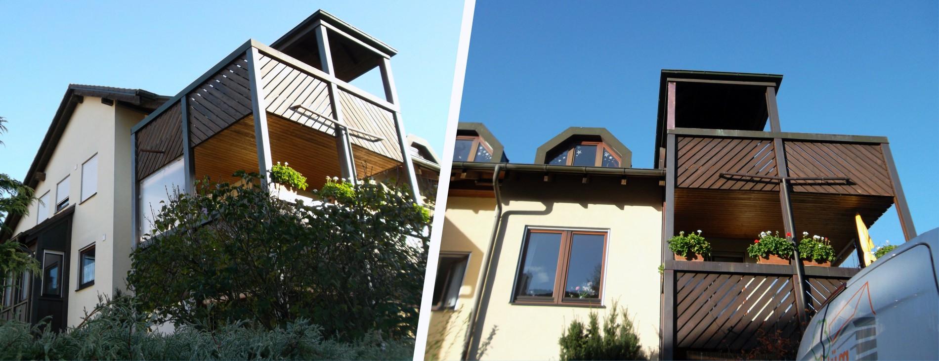 Balkon-Haus